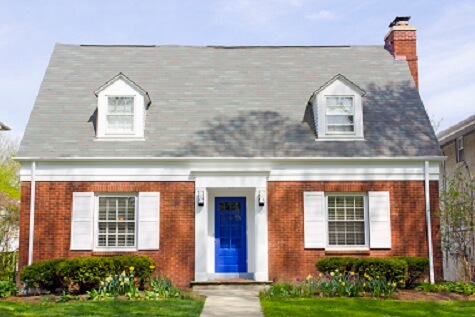 Single family house used to help illustrate problems with a life estate